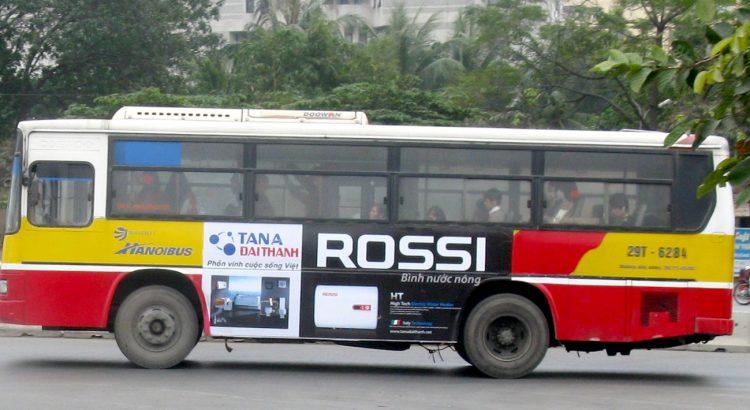 05 lý do doanh nghiệp nên chọn quảng cáo trên xe bus (P1)