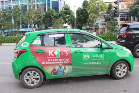 quảng cáo taxi mai linh