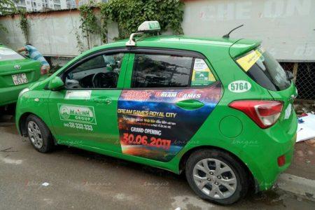 quảng cáo taxi ở yên bái