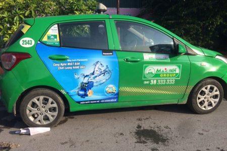 quảng cáo taxi tại lào cai