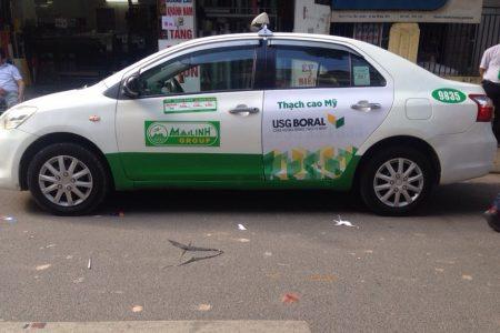 quảng cáo taxi tại yên bái